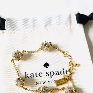 New Kate Spade Lady Marmalade Crystal Bracelet